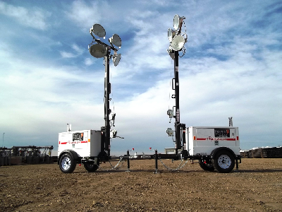 The Light Towers are easy to operate and extremely light and manoeuvrable making it very simple to position at the desired location for optimal work area ... & Lighting Tower Rental Dubai UAE United-Gulf.com